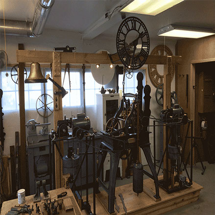 1882 # 16 Seth Thomas Tower Clock fully preserved with new Auto Winders completed by The Tower Clock Company