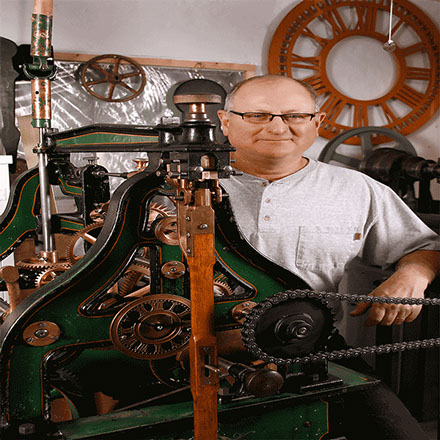 #16 Seth Thomas Tower Clock after Preservation by The Tower Clock Company with Phil Wright the Owner